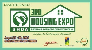 Banner Ad of the 3rd SHDA Housing Expo