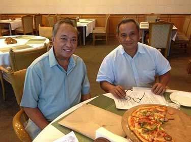 HBI President Reynaldo Guevara with Eric Tensuan