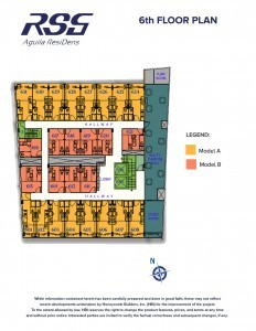 Image of RSG Aguila ResiDens 6th Floorplan - Social Hall