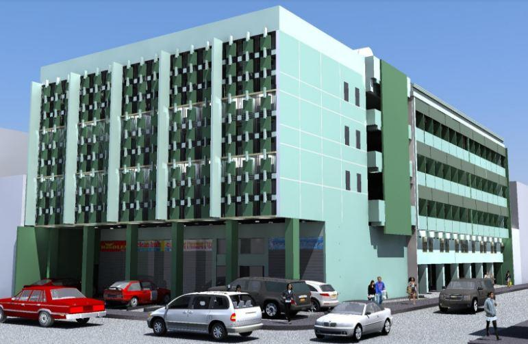 Building Perspective of RSG Sta. Mesa ResiDens