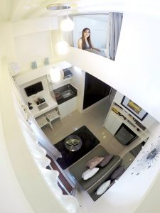 Fully furnished 2 bedroom loft condos in Metro Manila