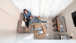 Urban Loft Living Area