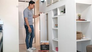 Urban Loft Built-in Storage