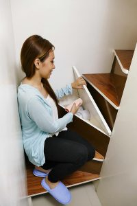 Urban Loft Staircase Cabinets